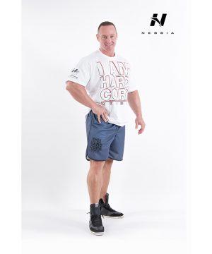 Fitness Shirt Heren Wit - Nebbia Hard Core T-Shirt 390-1