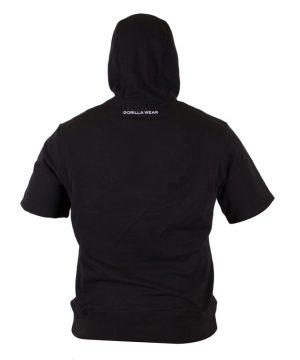 Fitness Shirt Heren Zwart - Gorilla Wear Boston-2