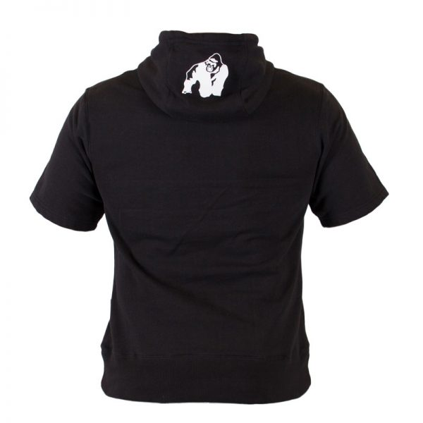 Fitness Shirt Heren Zwart - Gorilla Wear Boston-3