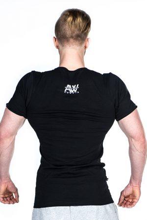 Fitness Shirt Heren Zwart - Nebbia 127-2