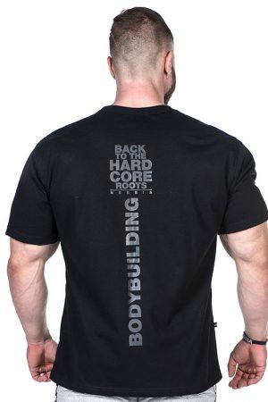 Fitness Shirt Heren Zwart - Nebbia Hard Core T-Shirt 391-2