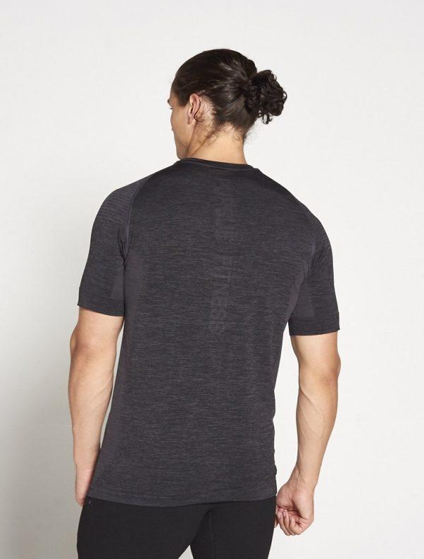 Fitness Shirt Heren Grijs Xeno - Pursue Fitness-1