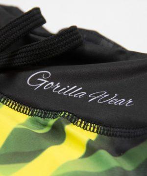 Fitness Shorts Dames Geel - Gorilla Wear Reno-4