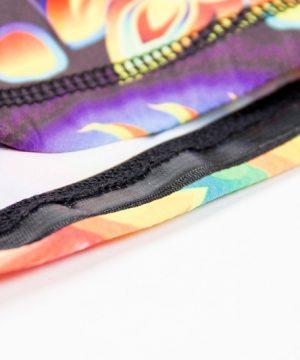 Fitness Shorts Dames Multicolor Mix - Gorilla Wear Venice-3