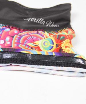 Fitness Shorts Dames Multicolor Mix - Gorilla Wear Venice-4