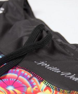 Fitness Shorts Dames Multicolor Mix - Gorilla Wear Venice-5