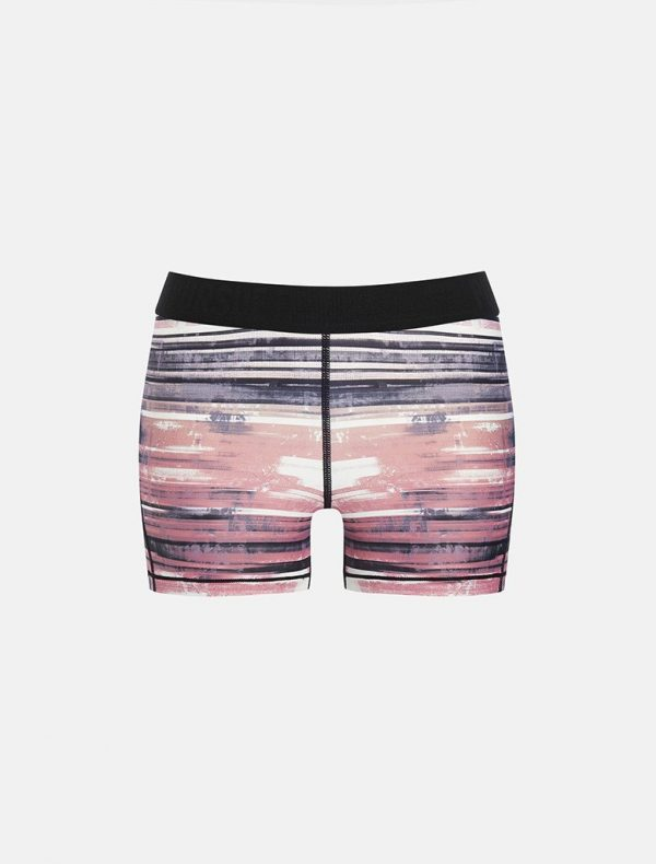 Fitness Shorts Dames Wit Roze - Pursue Fitness Allure-3