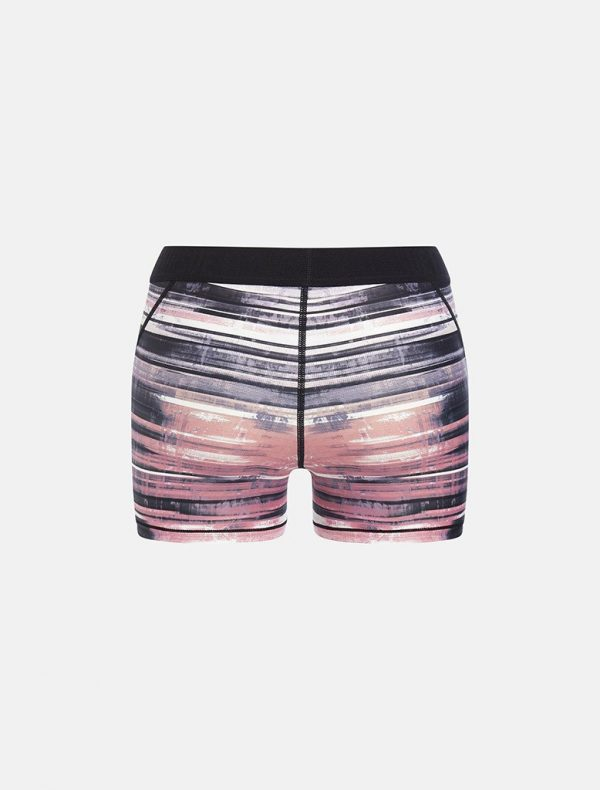 Fitness Shorts Dames Wit Roze - Pursue Fitness Allure-4