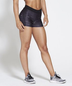 Fitness Shorts Dames Zwart - Pursue Fitness-1