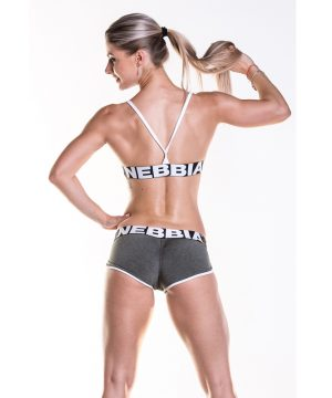 Fitness Shorts Damess Khaki - Nebbia Shorts 266-2