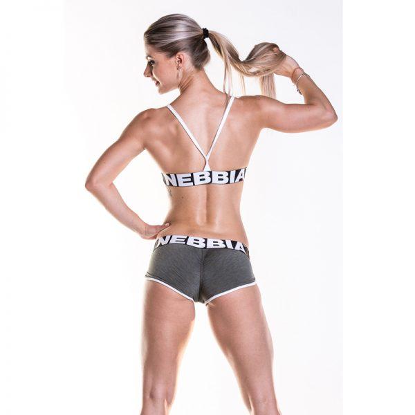 Fitness Shorts Damess Khaki - Nebbia Shorts 266-2