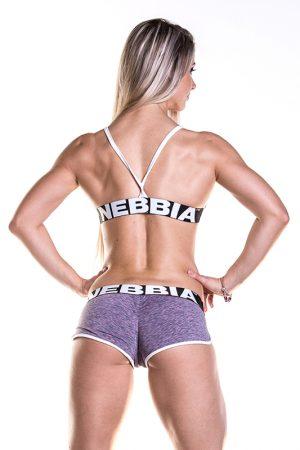 Fitness Shorts Damess Paars - Nebbia Shorts 266-2