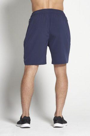 Fitness Shorts Heren Blauw 8inch - Pursue Fitness-2