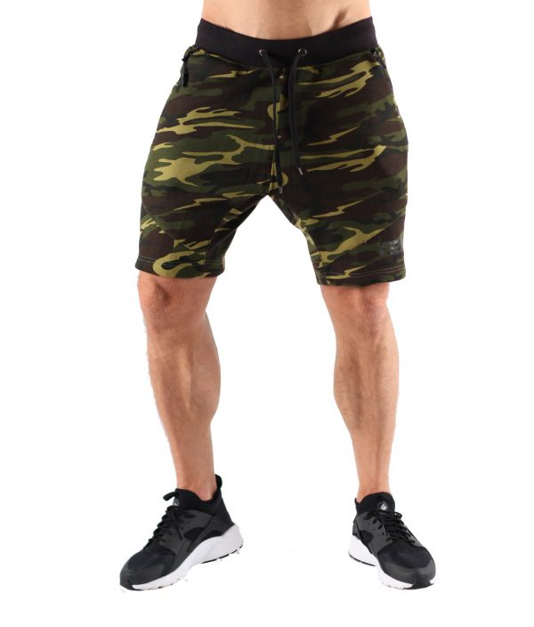 Fitness Shorts Heren Camo - Muscle Brand-1