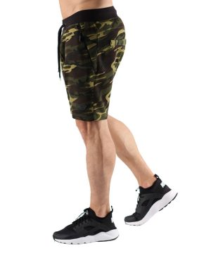 Fitness Shorts Heren Camo - Muscle Brand-2