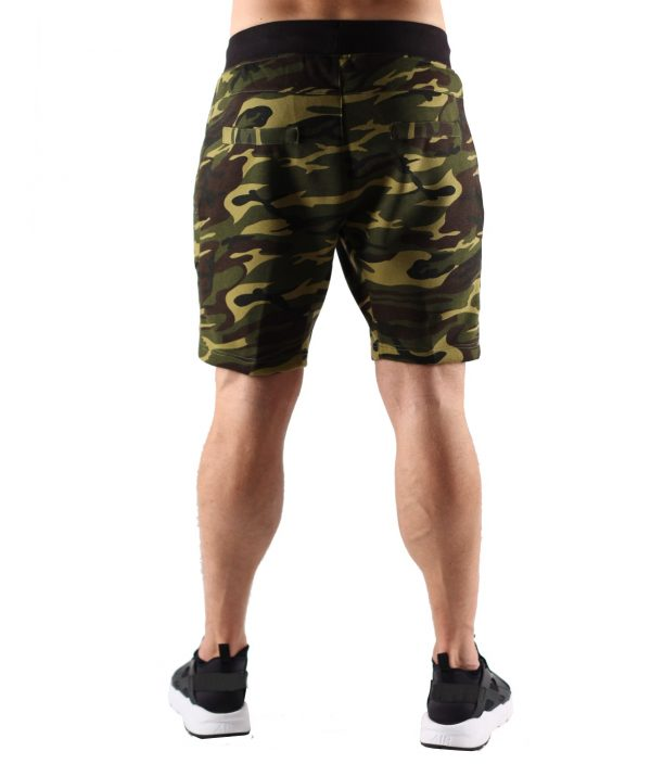 Fitness Shorts Heren Camo - Muscle Brand-3