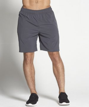 Fitness Shorts Heren Donkergrijs 8inch - Pursue Fitness-1