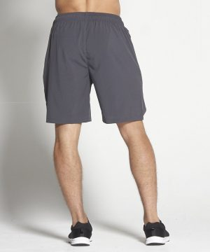 Fitness Shorts Heren Donkergrijs 8inch - Pursue Fitness-2