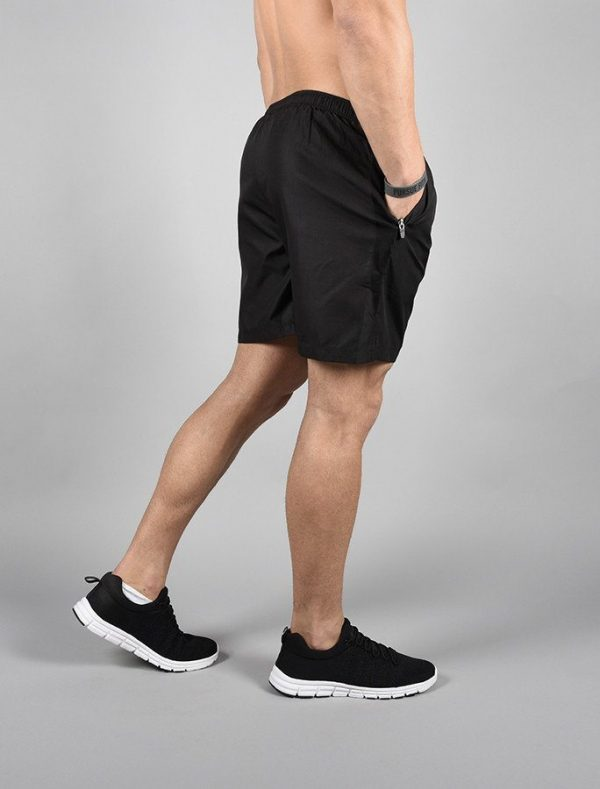 Fitness Shorts Heren Elevate Zwart-Wit - Pursue Fitness-2