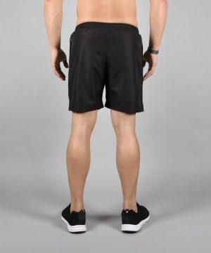 Fitness Shorts Heren Elevate Zwart-Wit - Pursue Fitness-3