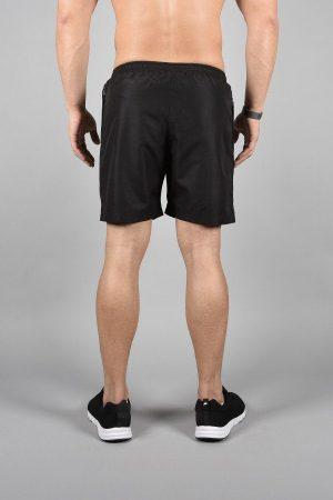 Fitness Shorts Heren Elevate Zwart-Wit - Pursue Fitness-3