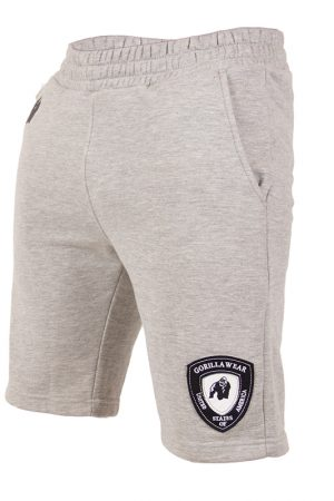 Fitness Shorts Heren Grijs - Gorilla Wear Los Angeles-1