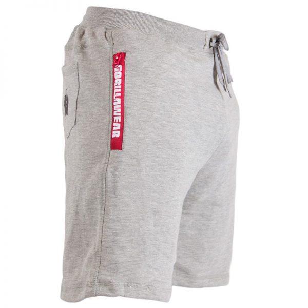 Fitness Shorts Heren Grijs - Gorilla Wear Pittsburgh-1