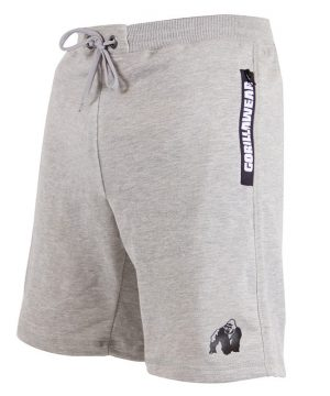 Fitness Shorts Heren Grijs - Gorilla Wear Pittsburgh-2