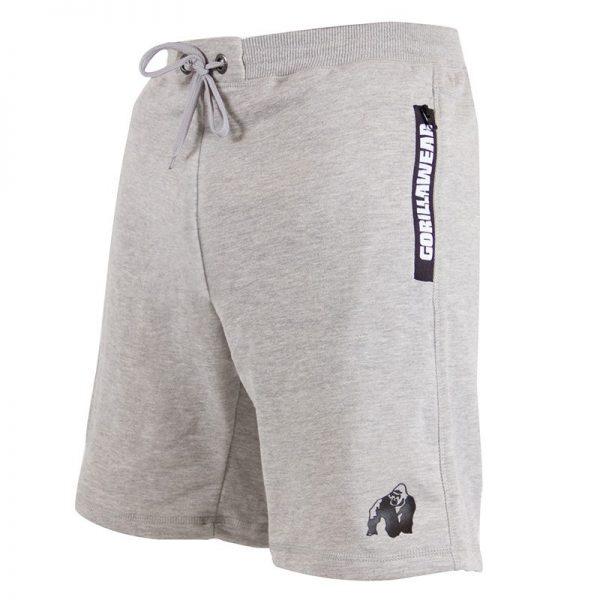 Fitness Shorts Heren Grijs - Gorilla Wear Pittsburgh-2