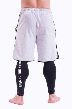 Fitness Shorts Heren Grijs - Nebbia 345-2