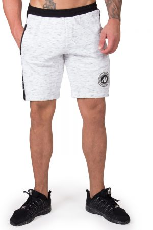 Fitness Shorts Heren Grijs Saint Thomas - Gorilla Wear-1