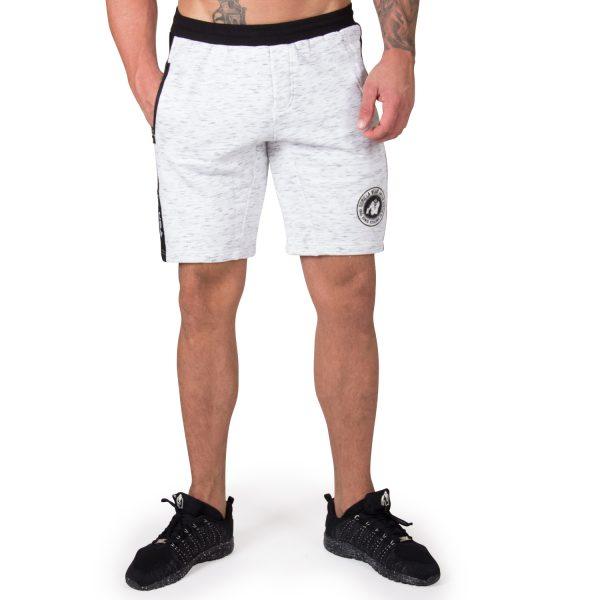 Fitness Shorts Heren Grijs Saint Thomas - Gorilla Wear-1