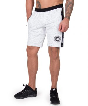 Fitness Shorts Heren Grijs Saint Thomas - Gorilla Wear-2