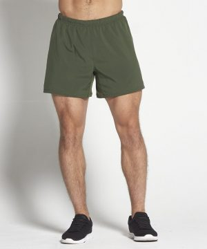 Fitness Shorts Heren Kaki 6inch - Pursue Fitness-1