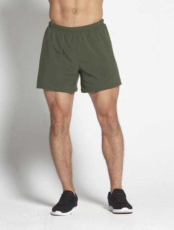 Fitness Shorts Heren Kaki 6inch - Pursue Fitness-1