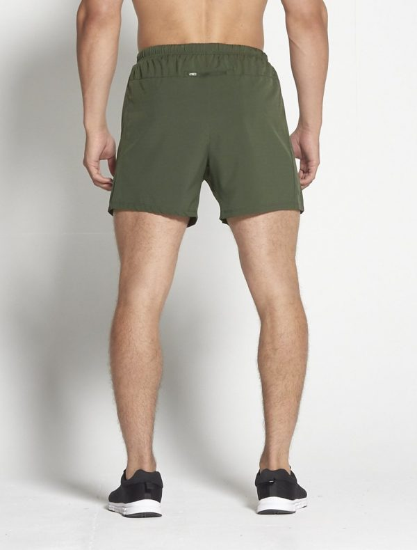 Fitness Shorts Heren Kaki 6inch - Pursue Fitness-2