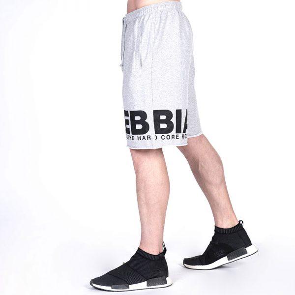 Fitness Shorts Heren Lichtgrijs - Nebbia Hard Core 343-2