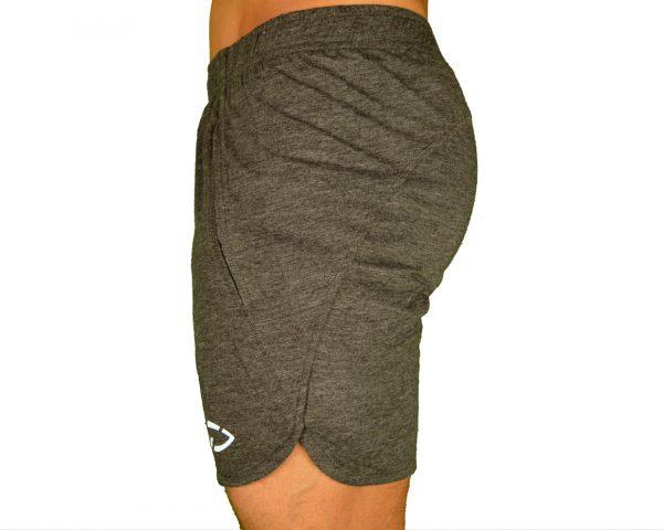 Fitness Shorts Heren Original Zwart - Disciplined Apparel-2