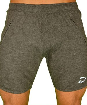 Fitness Shorts Heren Original Zwart - Disciplined Apparel-3