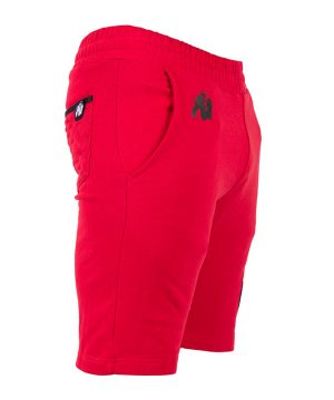 Fitness Shorts Heren Rood - Gorilla Wear Los Angeles-3