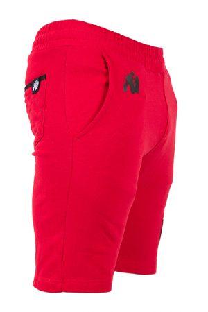 Fitness Shorts Heren Rood - Gorilla Wear Los Angeles-3