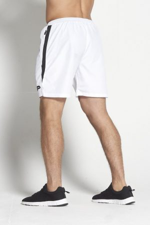 Fitness Shorts Heren Wit Elevate - Pursue Fitness-2