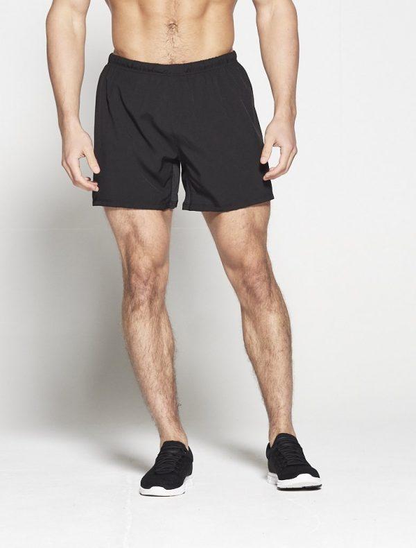 Fitness Shorts Heren Zwart 6inch - Pursue Fitness-1