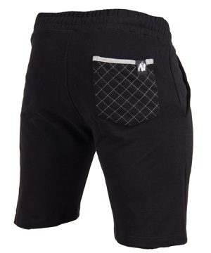 Fitness Shorts Heren Zwart - Gorilla Wear Los Angeles-2