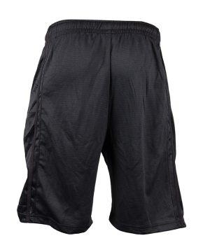 Fitness Shorts Heren Zwart - Gorilla Wear Oversized-2