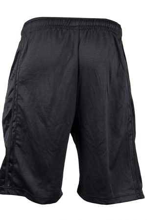 Fitness Shorts Heren Zwart - Gorilla Wear Oversized-2