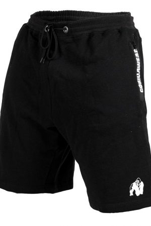 Fitness Shorts Heren Zwart - Gorilla Wear Pittsburgh-1