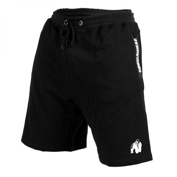 Fitness Shorts Heren Zwart - Gorilla Wear Pittsburgh-1