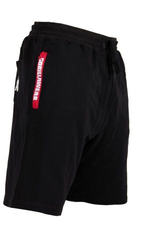 Fitness Shorts Heren Zwart - Gorilla Wear Pittsburgh-2