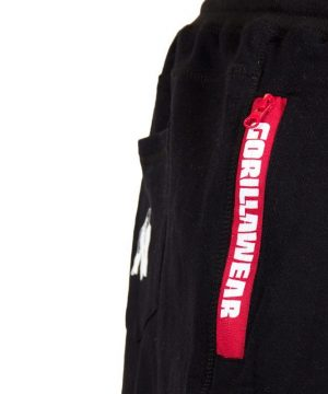 Fitness Shorts Heren Zwart - Gorilla Wear Pittsburgh-3